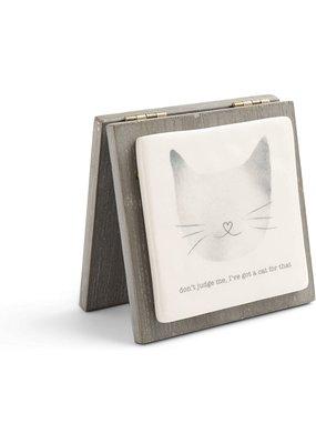 ***Cat Forever Keepsake Card