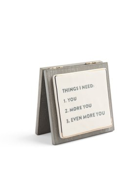 ***Things I Need Forever Keepsake Card