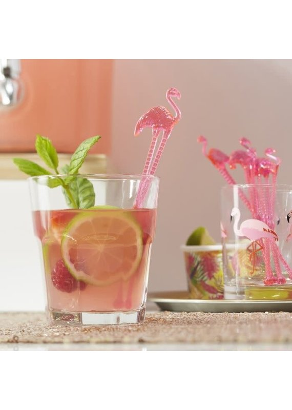 ***Flamingo Drink Stirrers