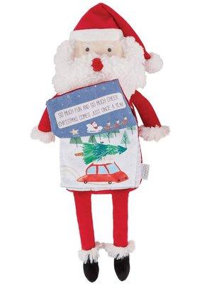 ****Santa Plush Book (Reading Pals)