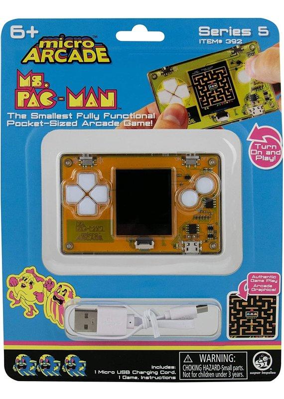 Super Impulse ****Micro Arcade Ms. Pac-Man Game
