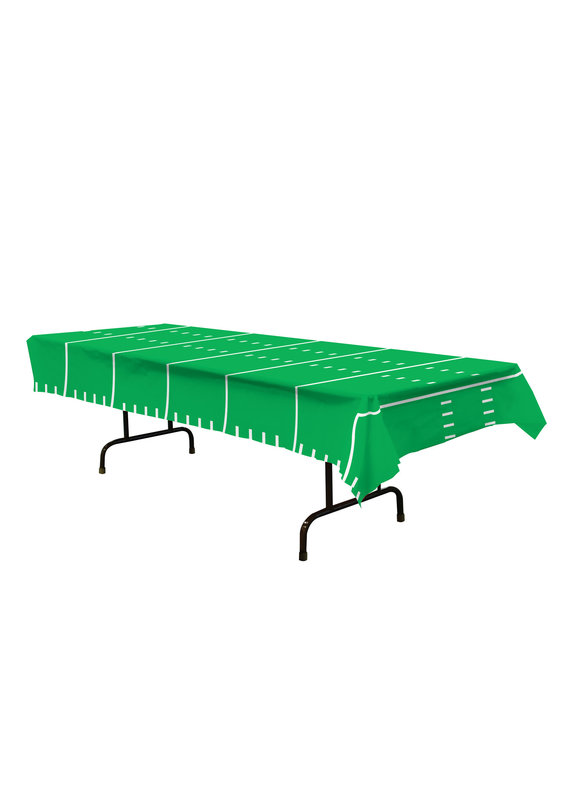 ****Football Field Plastic Tablecover