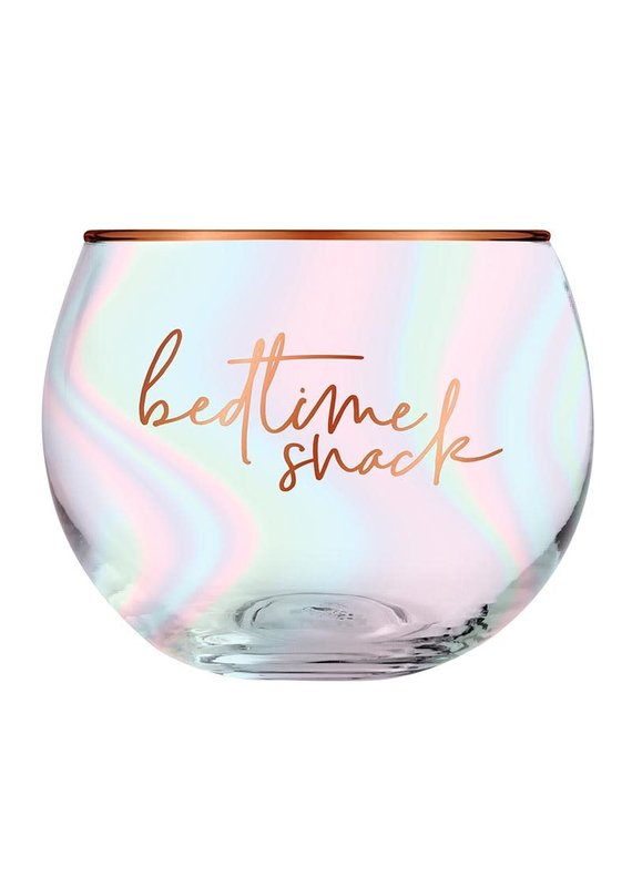 ***Bedtime Snack Roly Poly Wine Glass