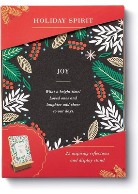 ****Holiday Spirit 25 Inspiring  Reflections with Display Stand