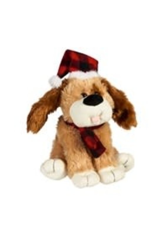 ****Christmas Animated Wagging Dog Tail with Scarf