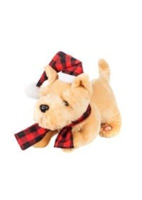 ****Christmas Animated Wagging Dog Tail with Hat
