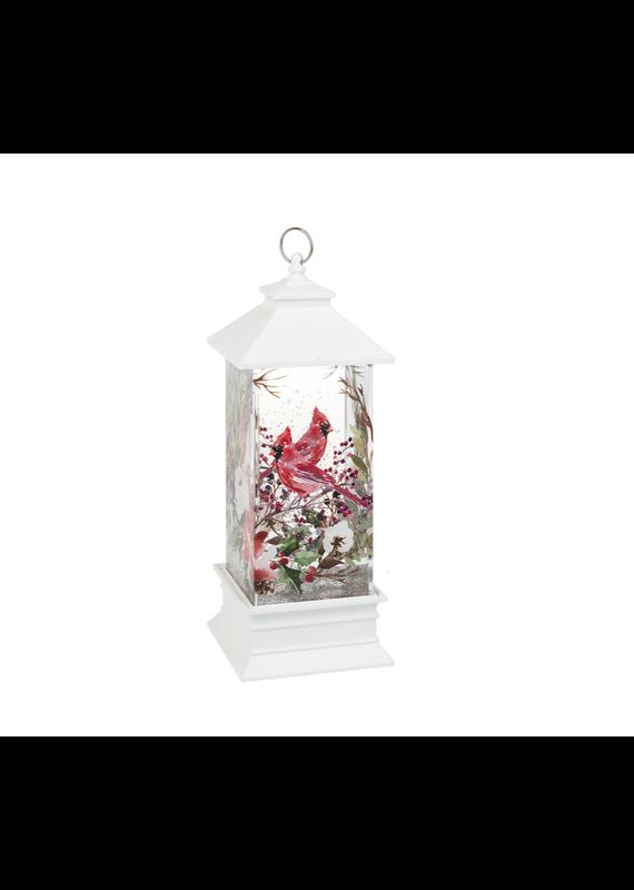 ****Cardinal LED Shimmer Lantern