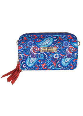 ****Simply Southern Phone Wristlet Paisley