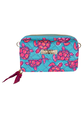 ****Simply Southern Phone Wristlet Turtle