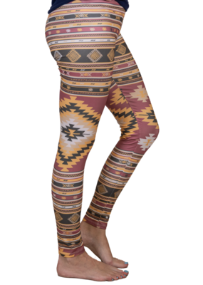 ***Simply Southern Leggings Aztec