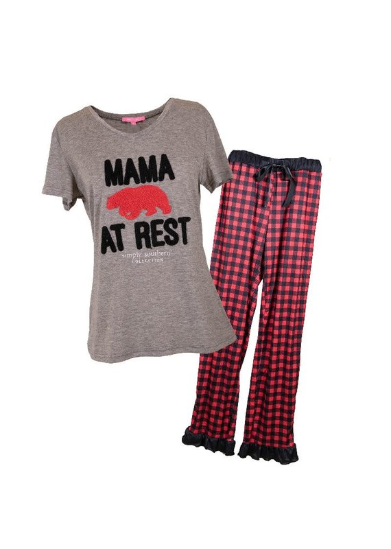 ****Simply Southern Mama Bear Rest PJs