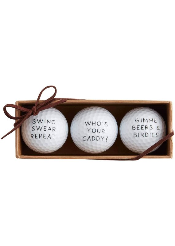 ****Who's Your Caddy Golf Ball Set