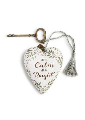 ****All is Calm Art Heart