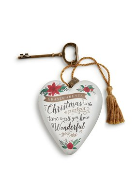****Grandparents Holiday Art Heart
