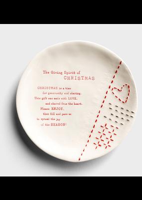 ****The Christmas Giving Plate