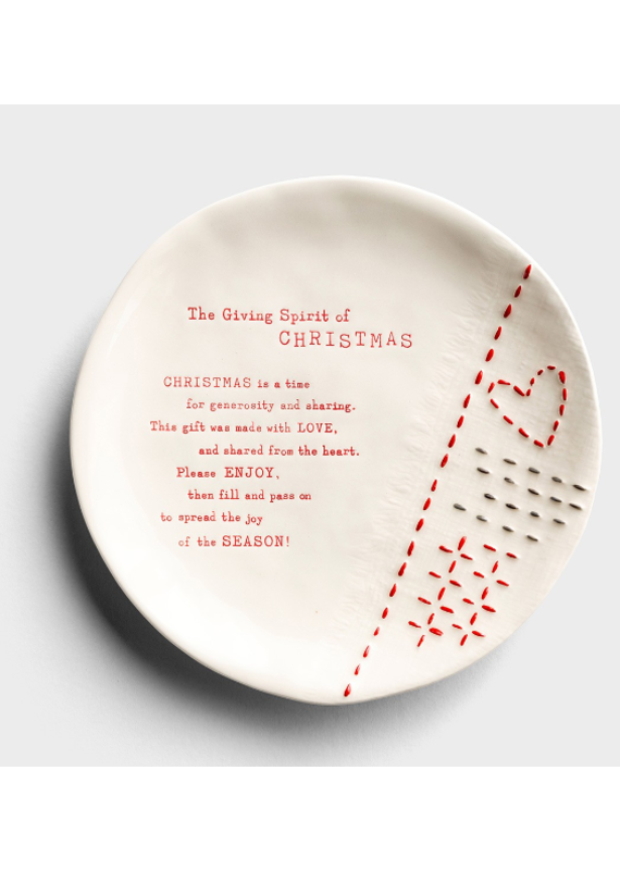 ****The Christmas Giving Plate