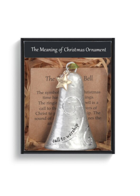 ****The Meaning of Christmas Ornament Bell