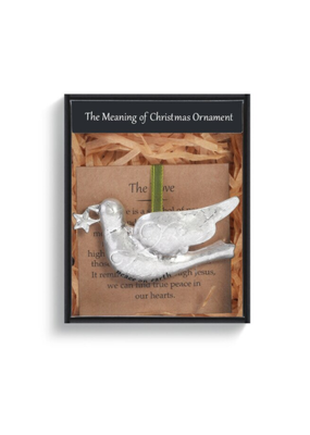 ****The Meaning of Christmas Ornament Dove