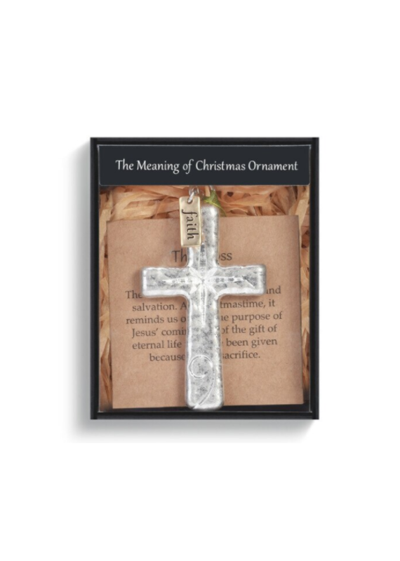 ****The Meaning of Christmas Ornament The Cross