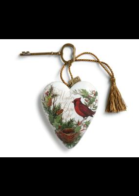 ***Winter Hope Christmas Art Heart
