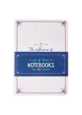 ****Notebook Set of 3 For the Teacher
