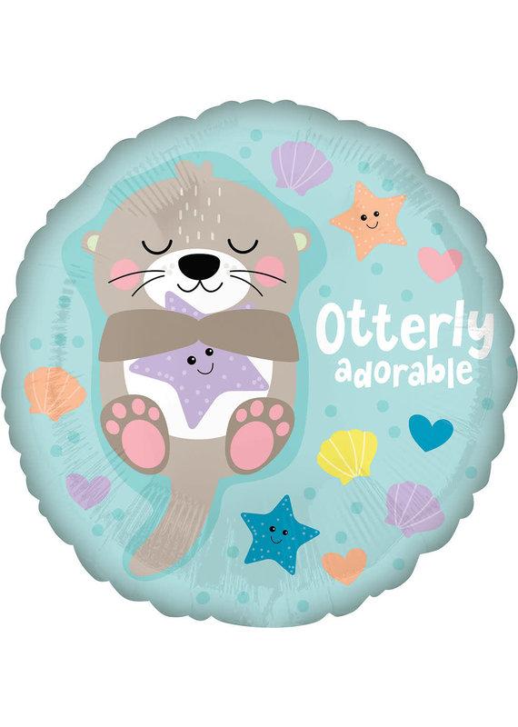 """****Otterly Adorable 18"""" Mylar Balloon"""