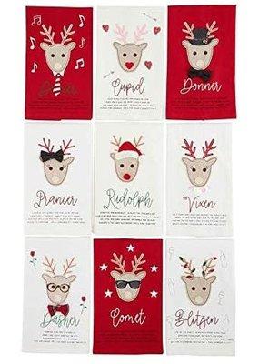 ****Reindeer Kitchen Towel Set (9pc)