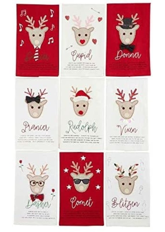 ****Reindeer Kitchen Towel Set (9pc)