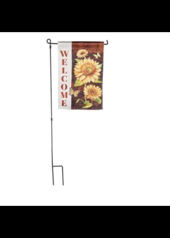 ****Welcome Sunflower Garden Flag
