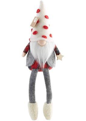 ****Christmas Vest Gnome Dangle Legs