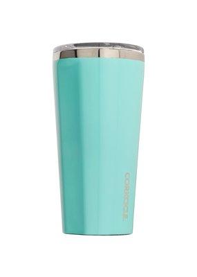 Corkcicle ****Turquoise Gloss 16oz Tumbler