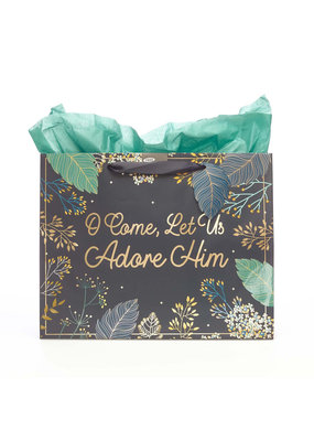****O Come, Let Us Adore Him Gift Large Bag