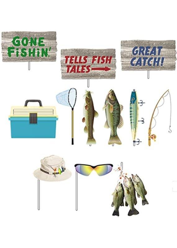 ****Gone Fishin' Photo Props
