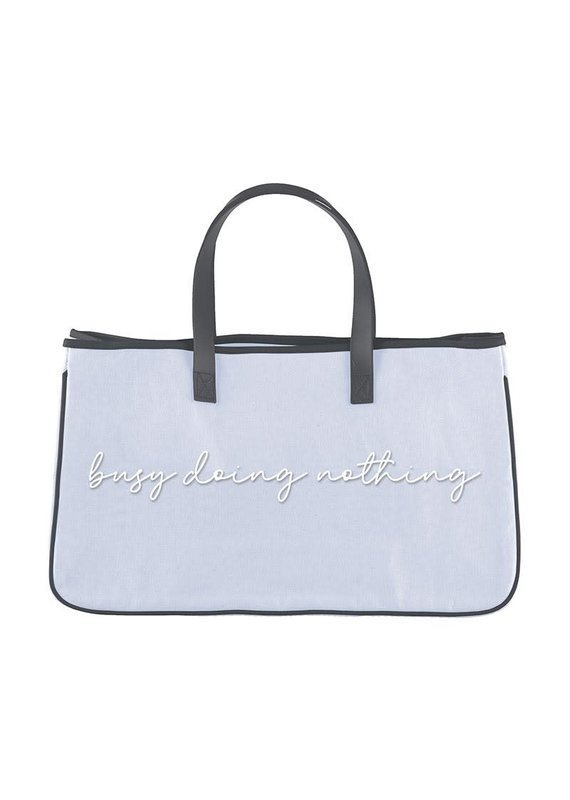 ****Busy Doing Nothing Tote Bag