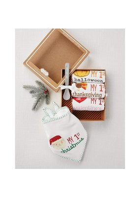 ****My First Holiday  Bibs Gift Set