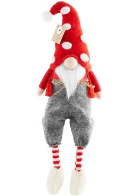 ****Christmas Pants Gnome Dangle Legs