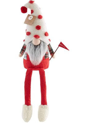 ****Christmas Mery Flag Gnome Dangle Legs