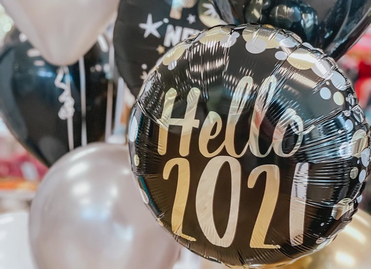 New Year's Eve Balloons