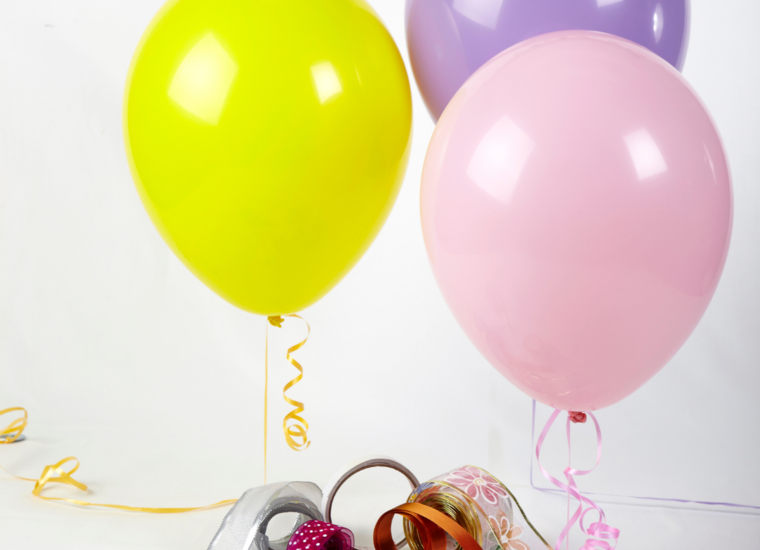 Balloon Weights, Ribbon & Accessories
