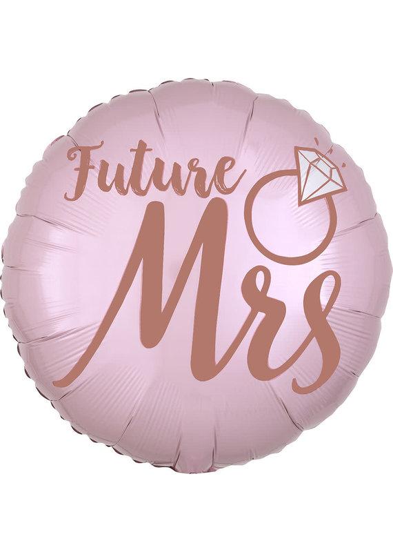 "*****Future Mrs. She Said Yes 18"" Mylar Balloon"