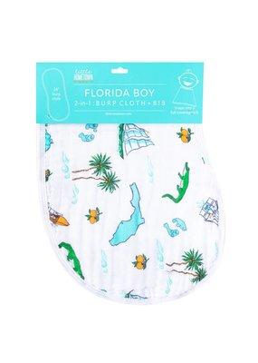 Little Hometown ****Florida Boy Burp/Bib Combo