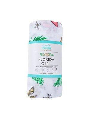 Little Hometown ****Florida Girl Swaddle