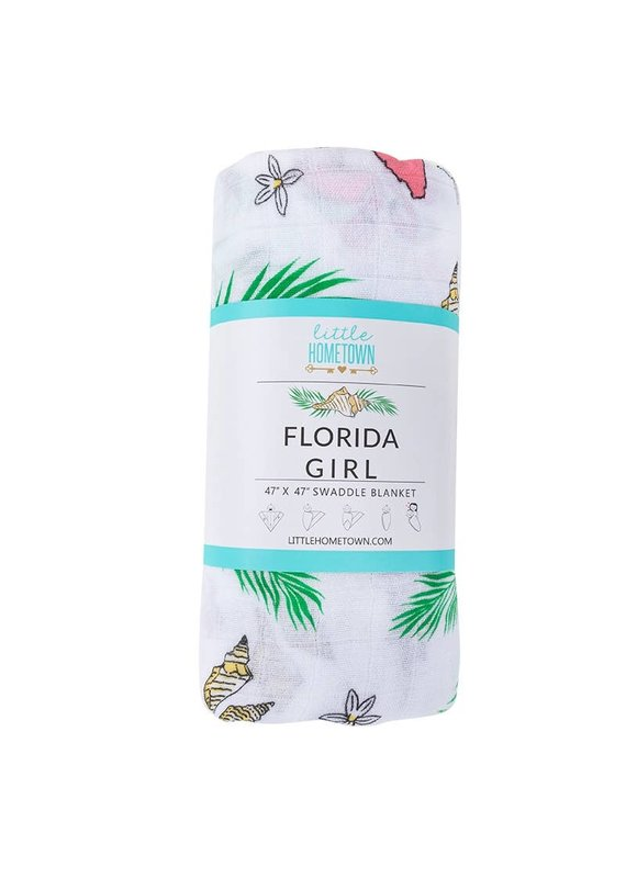 Little Hometown ****Florida Girl Swaddle