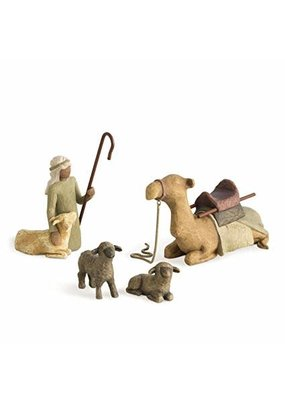 ****Willow Tree Shepherd and Stable Animals