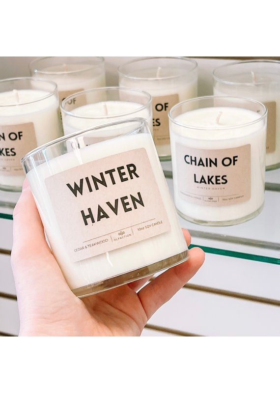 Olfaction ****Winter Haven Candle