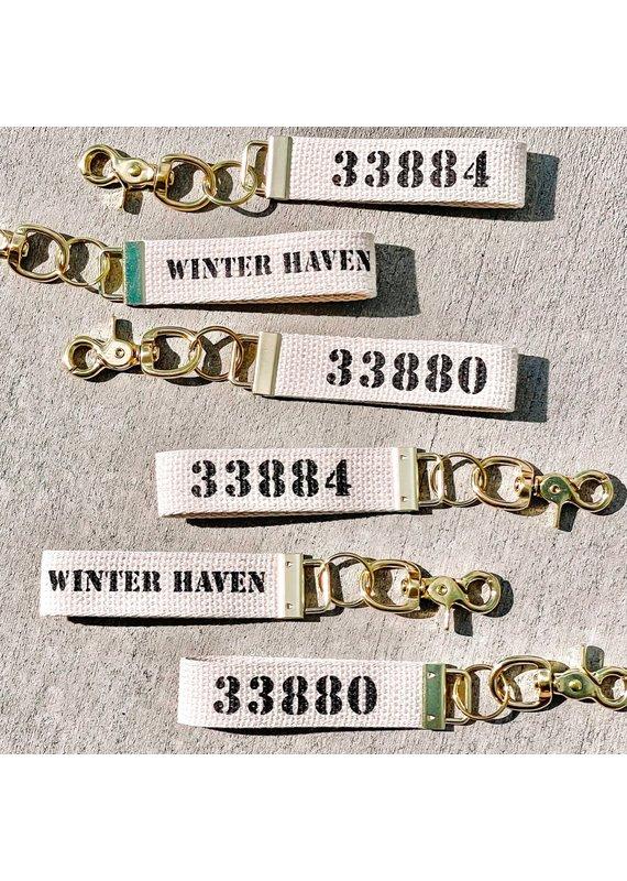 Rustic Marlin ****Winter Haven Key Chain/Zip