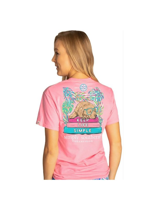 ****Simply Southern Short Sleeve Keep Flamingo