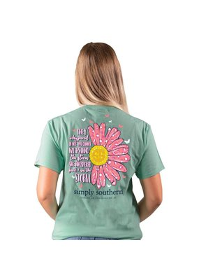 ****Simply Southern Short Sleeve Storm Sea