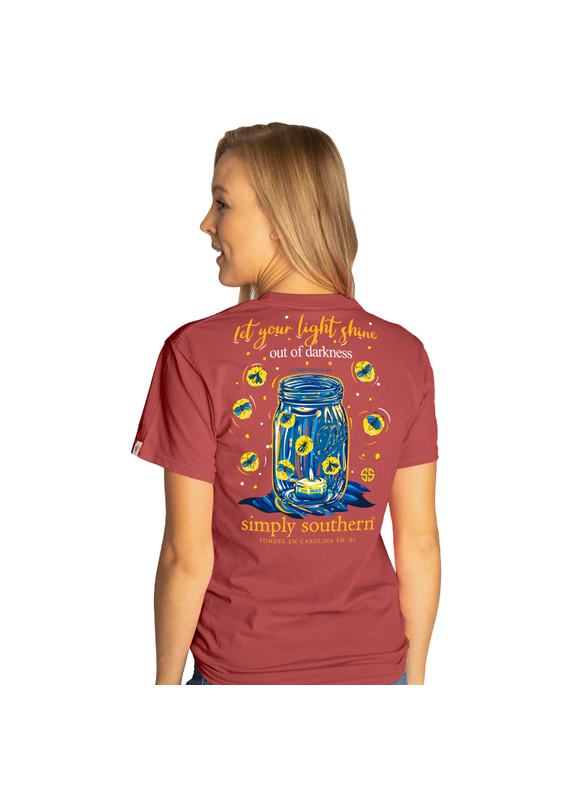 ****Simply Southern Short Sleeve Shine Spice