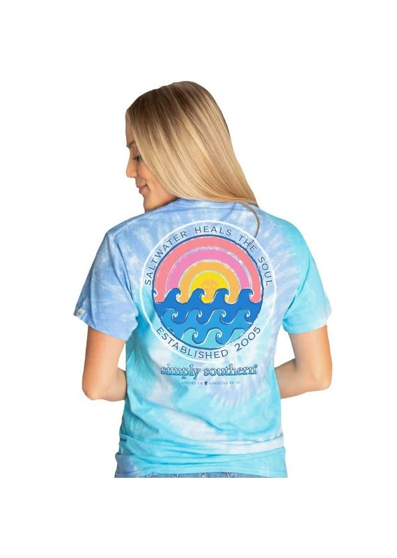 ****Simply Southern Short Sleeve Soul Tide